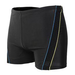 5f8c64a4b3 Breathable Swimwear Men Swim Shorts For Men Swimming Trunks Beach Surf  Light Thin Plus Size Bathing Suit Briefs Badeshorts A20