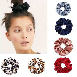 pony tails plates Australia - New Fashion Women Cotton Elastic Hairband Bobble Sports Dance Velvet Soft Scrunchie Hair Bands For Lady Mix Colors