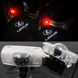 $enCountryForm.capitalKeyWord Australia - 2pcs LED Car Door light For LEXUS RX ES GX LS LX IS welcome Laser Projector Lamps Ghost Shadow Car styling Welcome Logo Light Accessories