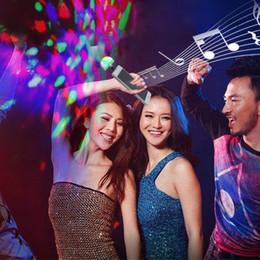 $enCountryForm.capitalKeyWord Australia - USB Port LED RGB Disco Stage Light Party Club DJ KTV Portable Magic Phone Ball Lamp 3 USB port Ball Lamp