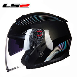 $enCountryForm.capitalKeyWord NZ - LS2 OF521 half face vintage helmet Fiber glass retro racing motorbike half helmet 3 4 open face vaspa moto helmets