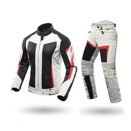 $enCountryForm.capitalKeyWord NZ - Racing Wear Female Motorcycle Jackets Lady Pants Clothes Motorbike Jacket Trousers Suits With CE Protective gear racing sets
