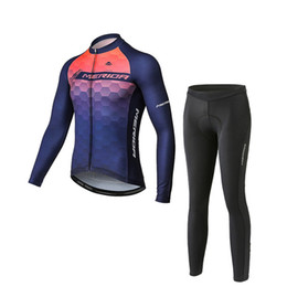 merida cycling jersey sets NZ - MERIDA team Cycling long Sleeves jersey bib pants sets summer new Mtb Sport Breathable Ropa Ciclismo U53142