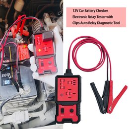 Tool Checker Australia - Hot 12V Cars Relay Tester Relay Testing Tool Auto Battery Checker Accurate Diagnostic Tool Portable Automotive Parts