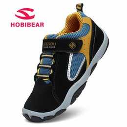 $enCountryForm.capitalKeyWord Australia - Hobibear Children Shoes For Girls Flat Running Kids Sneakers Boys Breathable Mesh Tennis Sneakers Soft Leather Sport Shoes 2018 Y19061906