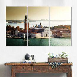 $enCountryForm.capitalKeyWord Australia - 3 sets HD canvas prints church san giorgio maggiore venice unframed Painting for wall decor fine art