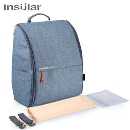 $enCountryForm.capitalKeyWord NZ - Multifunctional Diaper bag Travel Backpack Wetbag Nappy bag Large Desinger Baby bag with Stroller Straps for Baby Care
