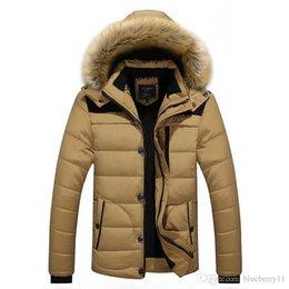 $enCountryForm.capitalKeyWord Australia - 2017 Men Winter Jackets Coats Black Warm Down Jacket Outdoor Hooded Fur Mens Thick Faux Fur Inner Parkas Plus Size Famous Brand L-4XL