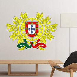 Symbols Light NZ - Portugal National Emblem Country Symbol Mark Pattern Removable Wall Sticker Art Decals Mural DIY Wallpaper for Room Decal