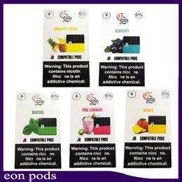 I baccelli Eonmoke di alta qualità presentano catrame compatibili con scatola dsiplay vs myle pods 0266275 in Offerta