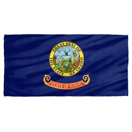 $enCountryForm.capitalKeyWord UK - Idaho Flag Licensed Beach Towel 60in by 30in Men Women Unisex Fashion tshirt Free Shipping black