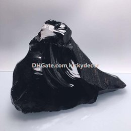 $enCountryForm.capitalKeyWord NZ - 1000g Rough Natural Black Obsidian Gemstone Healing Crystals Untreated Random Size Irregular Raw Volcanic Glass Stones Rock Mineral Specimen