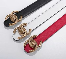 China Hot sale classic style buckle with 20 models mens womens riem real picture 105cm-125cm 80898 suppliers