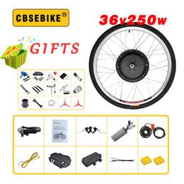 24 Inch Bicycle Australia - CBSEBIKE E bike Conversion Kit 36V 250W 20 24 26 28 29 inch 700c EBike Electric Bicycle Front Motor Wheel ebike kit
