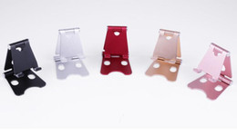 Adjustable Metal Stand For Tablet Australia - Mini Adjustable Mobile Phone Stand Foldable Multi-angle Metal Phone Stand Holder Universal For iPhone iPad Cell Phone Tablet