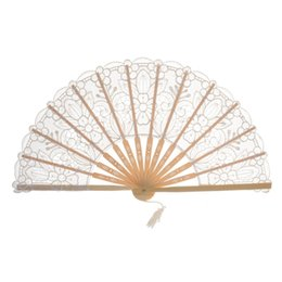 $enCountryForm.capitalKeyWord UK - Chinese Style Lace Hand Held Folding Fan Dance Party Birthday Party Decoration Favors Gift Women Dancing Hand Fans Decor