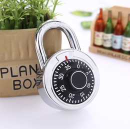 $enCountryForm.capitalKeyWord NZ - Hardened Steel Shackle Dial Combination Luggage Locker Lock Security Padlock for Tool Boxes Wardrobe Anti-Theft SN3078