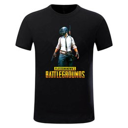 Men chicken online shopping - Mens Player Unknown S Battlegrounds T Shirt Pubg Winner Winner Chicken Dinner Game T Shirts Brand Camiseta Size S XL