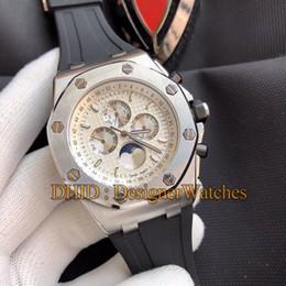 $enCountryForm.capitalKeyWord Australia - Fashion Watches Man Mechanical Automatic Movement Wristwatches 45mm Silver 316L Stainless Steel Case Black Rubber Strap Montre De Luxe watch
