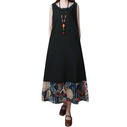 Womens Summer Chiffon Deep V-neck Beach Dress Ethnic Retro Geometric Floral Printed Bikini Cover Up Semi Sheer Oversized Loose P Women's Clothing