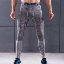 $enCountryForm.capitalKeyWord Australia - Brand Slim Fit Pants Men Fitness Leggings Elastic Patchwork Compression Tights Men's Joggers Skinny Sweatpants Casual Trousers