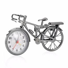 $enCountryForm.capitalKeyWord Australia - 1Pc ABS Retro Bicycle Alarm Clock Cool Style Clock Fashion Personality Needle NZ-035 Popular 22*6*13cm