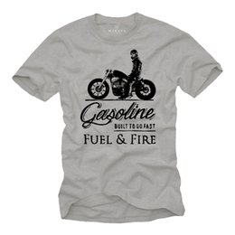 $enCountryForm.capitalKeyWord Australia - 2019 Hot sale Fashion T shirt Biker T-Shirt Herren MC Bobber Chopper Rocker Geschenke Motorradfahrer Motorrad Tee shirt