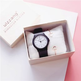 $enCountryForm.capitalKeyWord Australia - Pink Round Dial Wrist Watches Quartz Analog Student Casual Fashion Watch NEW Arrival Hot Selling Wholesale 2019 Lady Dress Watches