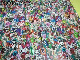 $enCountryForm.capitalKeyWord NZ - wholesale stickerbomb vinyl car wrap stickers sticker bomb vinyl films with air release size 1.52x10m 20m 30m available