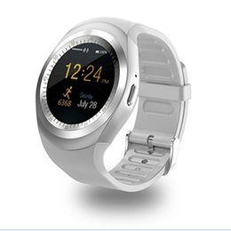 $enCountryForm.capitalKeyWord UK - Smart sports watch Y1 Bluetooth wear sports fitness tracker support sim card anti-lost ios Android smartphone