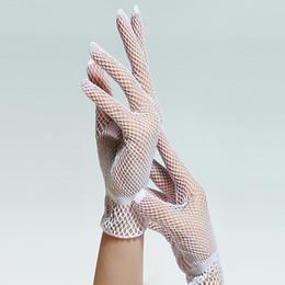 Mesh Fiber Australia - Women Summer UV-Proof Driving Mesh Fishnet Gloves 2017 Performing Breathable gloves guantes tacticos #1