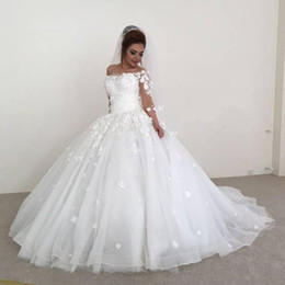 54207fea232b Flowy Chiffon Modest Wedding Dresses 2019 Beach Short Sleeves Beaded Belt  Temple Bridal Gowns Queen Anne Neck Informal Reception Dress