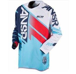 2019 Мото Велоспорт Бесплатная доставка Новый новейший ОТВЕТ Мотокросс гоночная рубашка для мужчин, играющих в захватывающий езда на велосипеде велосипед Джерси Маунт
