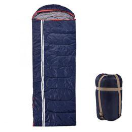$enCountryForm.capitalKeyWord Australia - 210x76cm Thicken Envelope Sleeping Bag Three Seasons Camping Hiking Sleeping Bag Machine Wash Single Person