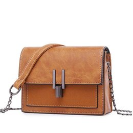 Wholesale New Vintage Women Nubuck Messenger Bag Fashion Pactchwork Girl Cell Phone Bag Stars Loved Hardware Chain Single Shoulder Bag