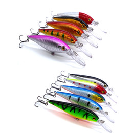 $enCountryForm.capitalKeyWord Australia - lure ANZHENJI 10pcs Lure Deep swim hard bait fish 10.5CM 10G artificial baits minnow fishing wobbler japan pesca