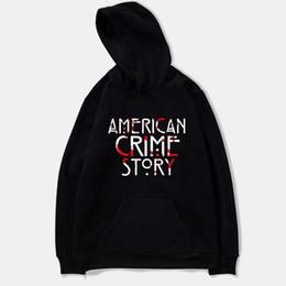 Story O Clothing Australia - American Crime Story Moletom Spring Anime Men Sweatshirts Hoodie Harajuku Casual Hoodie Men women Clothes Plus Size