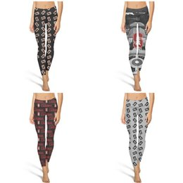 $enCountryForm.capitalKeyWord Canada - Stanford Cardinal Football red Fashion Women Vintage Yoga pants Elasticity Casual Four-way stretch Suitable for Fitness black and white