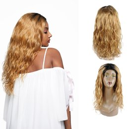 Human Hair 27 Australia - Shiningstar #1b 27 color Body Wave Peruvian Virgin Human Hair Lace Front Wigs 150% Destiny Body Wig