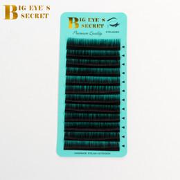 $enCountryForm.capitalKeyWord Australia - Big Eyes Secret Manufacturer Supplies Individual Eyelash Trays Curl J B C D L High Quality Lashes Private Label Eyelash Extension