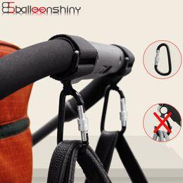 Baby Black Metal Australia - Baby Stroller Accessories Multi Purpose Baby Stroller Hook Shopping Pram Hook Props Hanger Metal Convenient Hooks