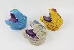 $enCountryForm.capitalKeyWord UK - New Jurassic Dinosaur Model Hand Doll Interactive Toy Lion Tiger Shark Glove Parent-child Toy