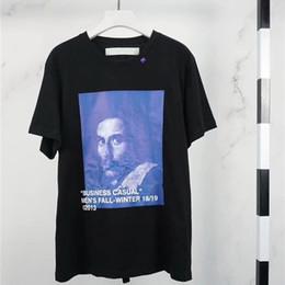 12b8920f Oil shirt online shopping - 19SS oil painting Tee T shirt Men o High  Quality Top