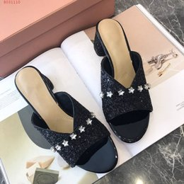 designs styles slippers 2019 - Classic Tide product women New Slippers, Diamond style women shoes,Unique fashion design Slipper series hot sale ining d