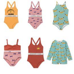 eb9de3e7c8c 2018 Summer Hot Sale Toddler Kids Swimwear Baby Boys Girls Bobo Choses Bikini  Swimwear One-Piece Swimsuit Swimming