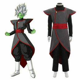 dragon ball cosplay costumes Australia - Hot! Dragon Ball Super Fusion Zamasu Cosplay Costume Adult mens costume