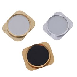 Ring foR iphone home button online shopping - 1pcs Home Button Back Key With Metal Ring For iPhone Same Look as for iPhone S Style