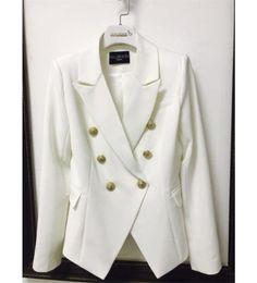 venda por atacado Balmain Roupas Femininas Top Stylist Blazers Womens Suits Brasão Balmain Womens Stylist Vestuário Jacket Tamanho S-XL