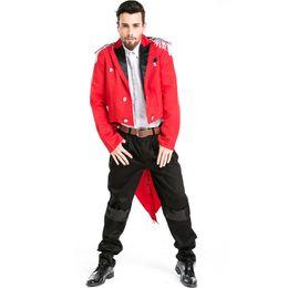 $enCountryForm.capitalKeyWord Australia - New Sexy Stage Costume Male Singer Nightclub DS Clothing Pirate Captain Halloween Party Costume Magician Tuxedo Uniform
