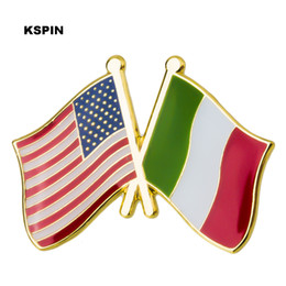 U.s.a Ireland Friendship Flag Metal Pin Badges For Clothes In Badges Button On Brooch Plating Brooches For Jewelry Xy0271 Arts,crafts & Sewing Home & Garden